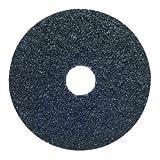 5''Dia x 7/8'' 36-Grit Extra Coarse NeonAluminum Oxide Fiber Disc, Pack of 10