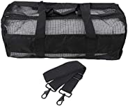 Nylon Portable Underwater Diving Equipment Durable PVC Coating Mesh Bag Storage Pouch Bag
