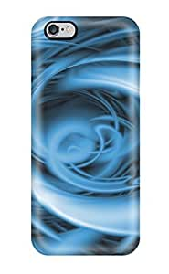 Special BayyKck Skin Case Cover For Iphone 6 Plus, Popular Funky Teal Swish Phone Case