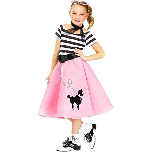 Soda Shop Sweetie Costume - Medium -