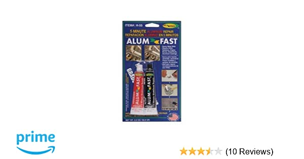 Liquid Glues & Cements Business & Industrial Sporting Hy-poxy H-450 Alumbond 6.5 Oz Aluminum Putty Repair Kit Excellent Quality