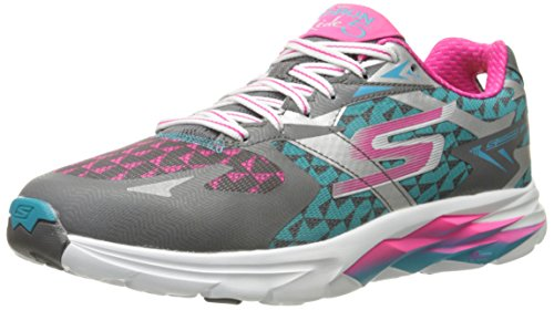 Run Running de 5 Gris Skechersgo Mujer Zapatillas Ride Ccbl pBxqwwS