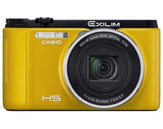 Casio Exilim EX-ZR1500 EXZR1500YW Compact Digital Camera International Version (No Warranty)(Yellow)
