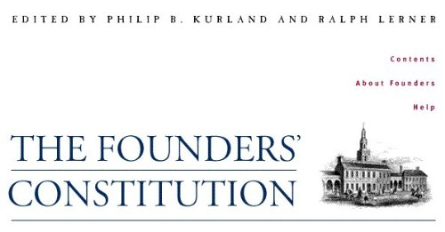 The Founders' Constitution, Volume Two: Preamble Through Article 1, Section 8, Clause 4