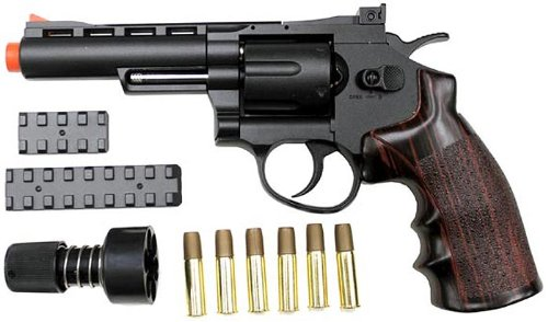 wingun 701 4 revolver co2 gas gun bk(Airsoft Gun) by WinGun