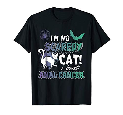 - Funny and Scary Anal Cancer Awareness T Shirt