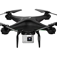 Littleice L500 Selfie Drone With WiFi FPV Wide Angle 300P/720P HD Camera 2.4GHz 6 Axis RC Quadcopter Selfie Drone (Black, 0.3MP HD)