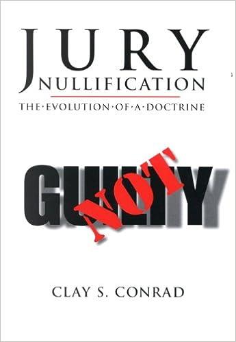 Amazon Jury Nullification The Evolution Of A Doctrine