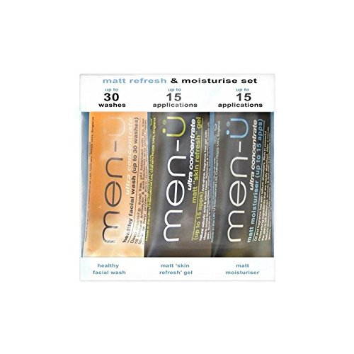 Men-U Matt Refresh & Moisturise Set (3 Products) (Pack of 6)
