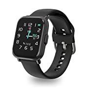 #LightningDeal Smart Watch, UXD Fitness Activity Tracker with Sleep Heart Rate Monitor for Men Women 5ATM Waterproof Pedometer Smartwatches for iPhone Samsung Android Phones