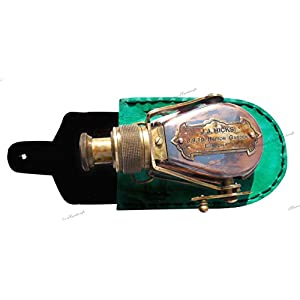 MAH Antique-Style-Ships Pocket- Monocular- Brass Telescope- with-Box. C-3232