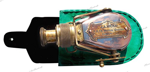 MAH Antique-Style-Ships Pocket- Monocular- Brass Telescope- with-Box. C-3232 3