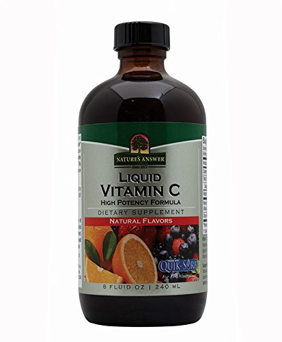 Nature's Answer Liquid Vitamin C, 8-Fluid Ounces. Liquid Vitamin C with Rose Hips and Bio-Flavanoids