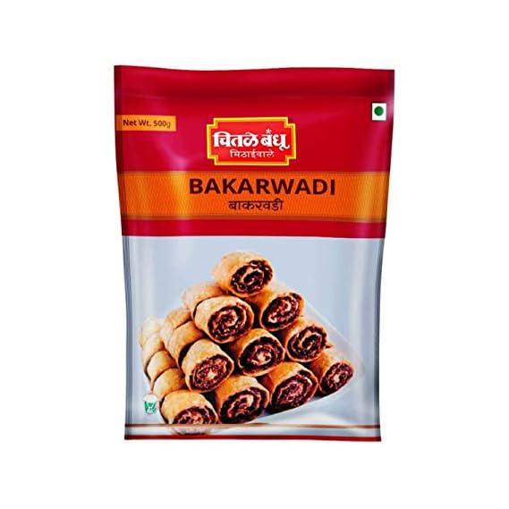 Chitale Bandhu Mithaiwale Bakarwadi, 200g - Set of 2