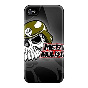 Perfect Cell-phone Hard Cover For Iphone 6 With Provide Private Custom Fashion Metal Mulisha Image LavernaCooney