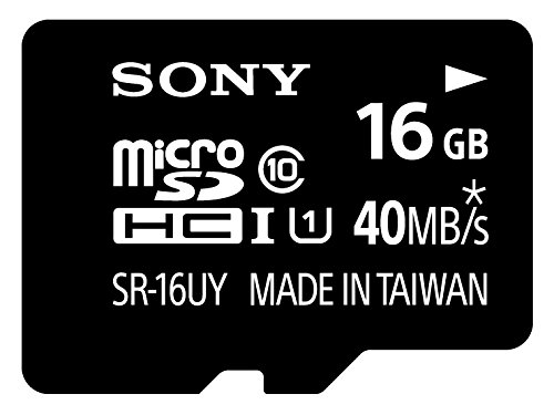 [TERNS]Sony 16GB ? UHS Speed Class1 (Class10) compatible microSDHC card (with SDHC adapter) SR-16UYA[Japan Import]