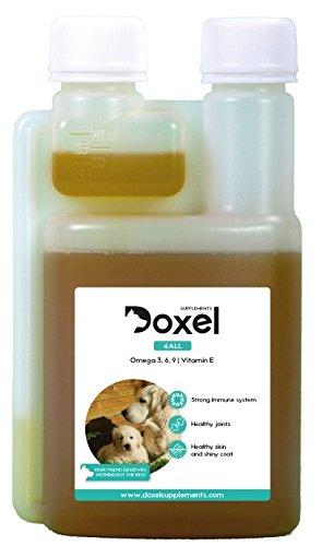 Doxel 4all-100ml Aceite para perros| Suplemento natural | Sistema Inmunitario reforzado| Articulaciones