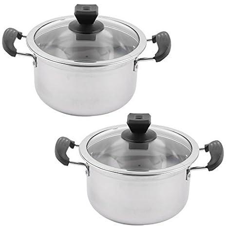 Amazon.com: eDealMax acero inoxidable Inicio de cocina sopa ...
