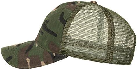 Stylish Mens Women Classic Camouflage Baseball Cap Summer Sun Outdoor Hat HOT