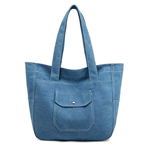 Mujer Azul Para Cruzados Medium Bolso Luut wqAO1tF