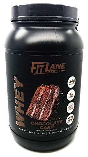 Low Carb Whey Protein Shake. Best Tasting Protein Powder for Men and Women. Protein Whey by Fit Lane Nutrition 2 lbs Chcoolate Flavor