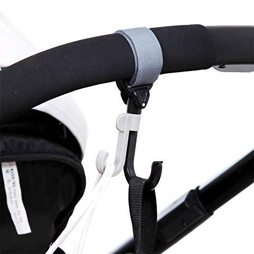MAOFALZZNA 2 pcs Stroller Accessories Organizer Hooks for Wheelchair Accessoire Poussette Baby Pram Throne