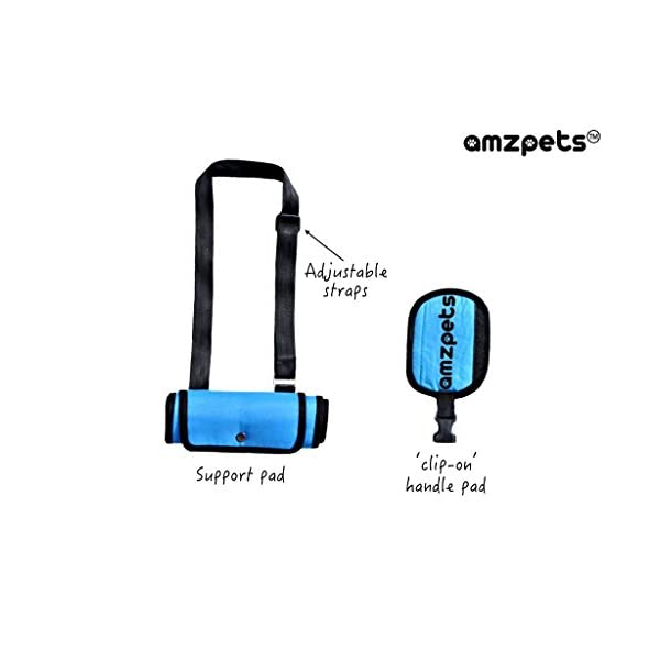 (X-Small) – Dog Lift Harness by AMZpets – Support Sling Helps Dogs With Weak Front or Rear Legs Stand Up, Walk, Get Into… Click on image for further info. 2