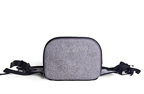 LOHUA Pet Carrier Backpack, Breathable Mesh Soft-sided Front Pouch Dog Carrier Backpack Pet Shoulder Bag Outdoor Travel by LOHUA (Image #4)