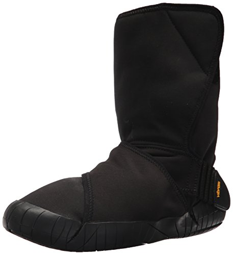 Vibram Sole Boots - Vibram Furoshiki Mid Boot New Yorker Sneaker, Black, EU:40-41/UK Man:6-7.5/UK Woman:7.5-8.5/cm:25-26/US Man:7-8.5/US Woman:8.5-9.5