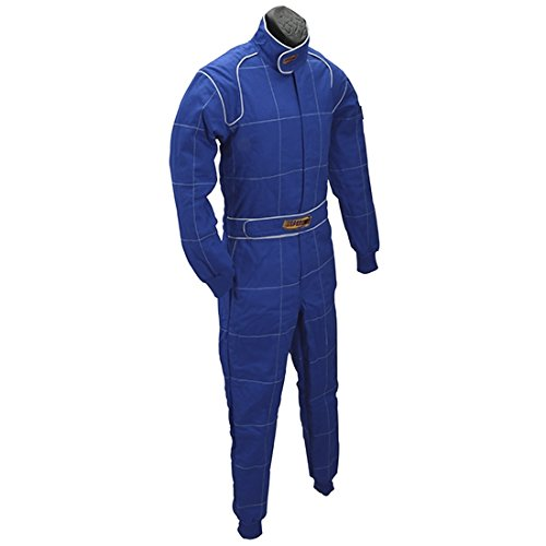 Red 2 Layer Racing Suit-One Piece-SFI-5 Rated, XL by Speedway Motors (Image #2)