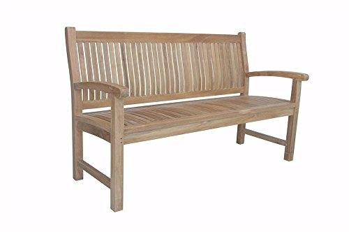 Anderson Teak BH-003 - No Cushion Sahara 3-Seater Bench