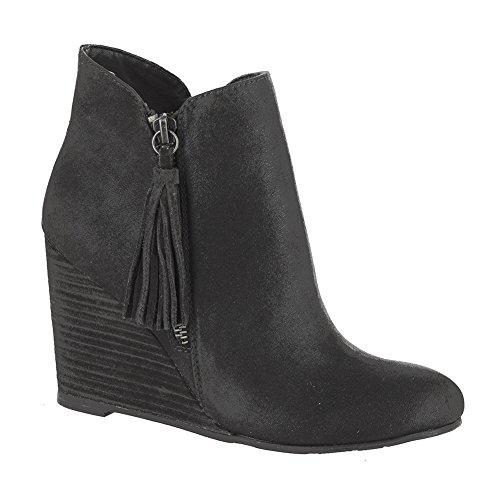 MIA Buckley Women's Boot 10 B(M) US (Mia Wedge Shoes)