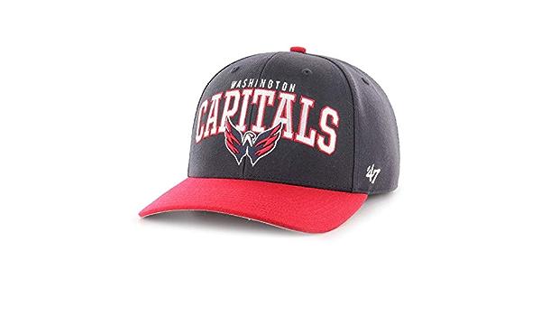 Forty Seven Brand Washington Capitals McCaw MVP DP Curved Visor Velcroback Cap