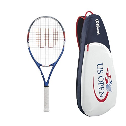 trung Tennis Racquet/Racket (Grip Size 4 1/4) bundled with a Limited Edition US Open Sling Bag (Open Tennis Racket)
