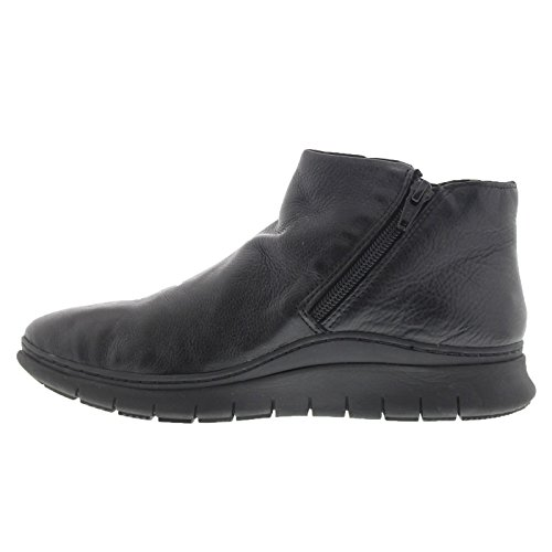 Vionic Womens 352 Dylan Fresh Leather Boots Schwarz