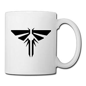 Christina The Last Of Us Logo Ceramic Coffee Mug Tea Cup White