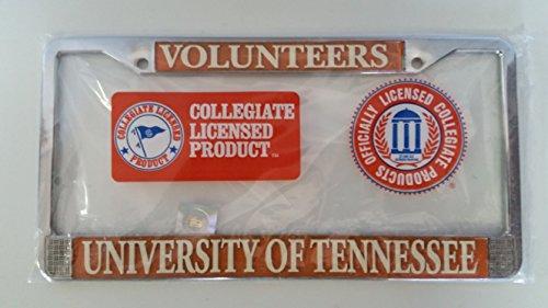 New - Tennessee Volunteers Metal License Plate Frame - Auto Car Truck (Tennessee Volunteers Truck)