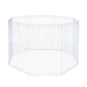 Prevue Pet Products SPV40094 Small Animal 8-Panel Play Pen, 18 by 29-Inch