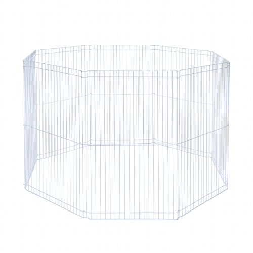 Prevue Pet Products SPV40094 Small Animal 8-Panel Play Pen, 18 by (Panel Small Animal)
