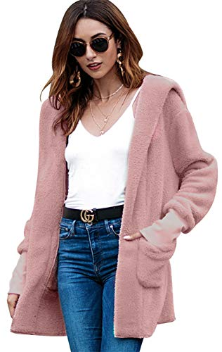 Large Manteau Rose DOKER Tunique Femme XwTHF