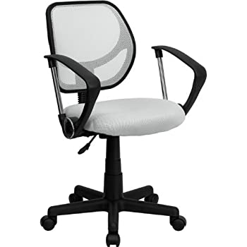 Amazon Com Brenton Studio Rixie Task Chair Black White