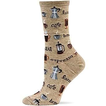 Hot Sox Coffee Sock , Hemp , Women's 4-10.5