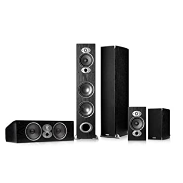 Polk Audio RTi A7 5.0 Home Theater Package (Black)