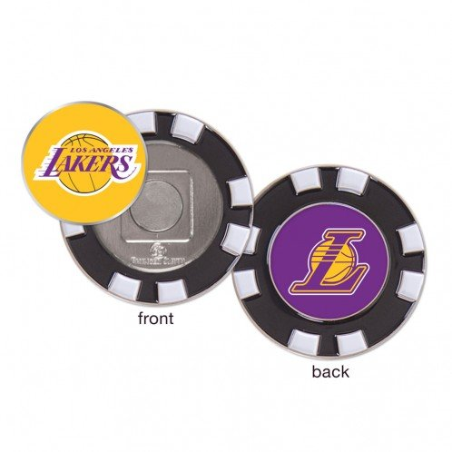 LA Los Angeles Lakers NBA Poker Chip Golf Ball Marker by WinCraft