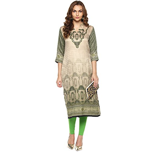 Lagi Kurtis Ethnic Women Kurta Kurti Tunic Digital Print Top Dress Casual Wear New Launch by Beige by Lagi