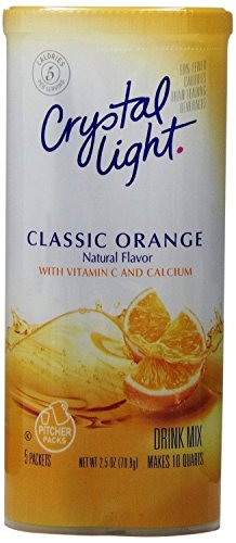 Crystal Light Classic Orange Drink Mix, 10-Quart Canister (Pack of 24) by Crystal Light