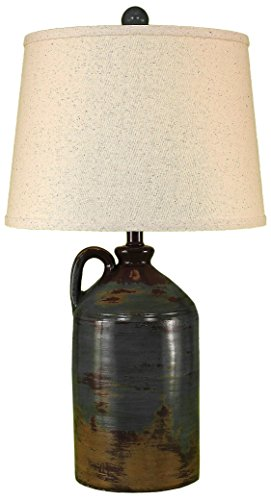 Harvest 1 Handle Pottery Jug Table lamp