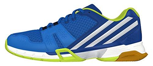 adidas Volley Team 4, Zapatillas de Voleibol para Hombre Azul (Azuimp / Plamet / Eqtazu)