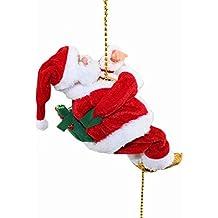 ATS Musical Climbing Santa Christmas Decoration