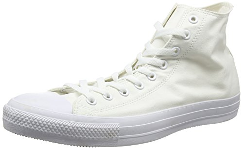 Converse Men Chuck Taylor All Star Hi-top Shoes White Monochrome